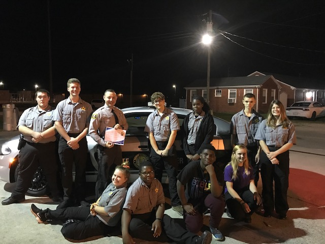 CCSO Cadets Learn About NCSHP Investigations